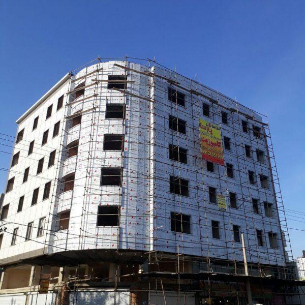 پروژه ساختمان تجاری اداری محمدشهر کارفرما اقای مهندس قاسمی1
