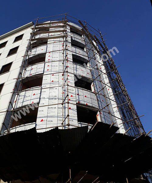 پروژه ساختمان تجاری اداری محمدشهر کارفرما اقای مهندس قاسمی2