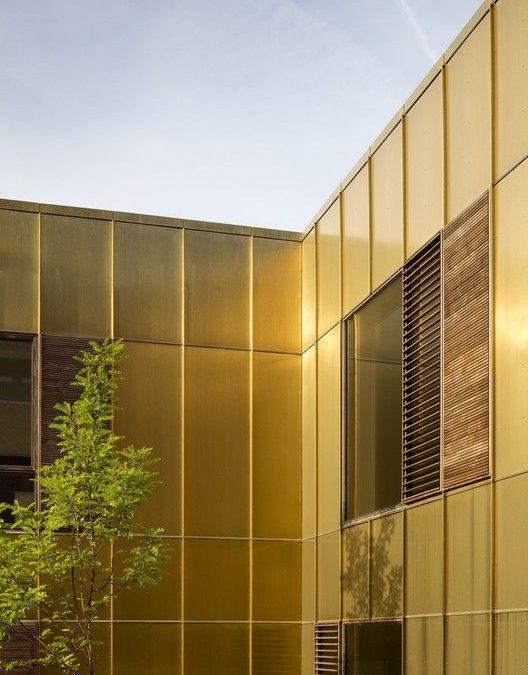 ورق کامپوزیت آینه ای طلایی آلوتک